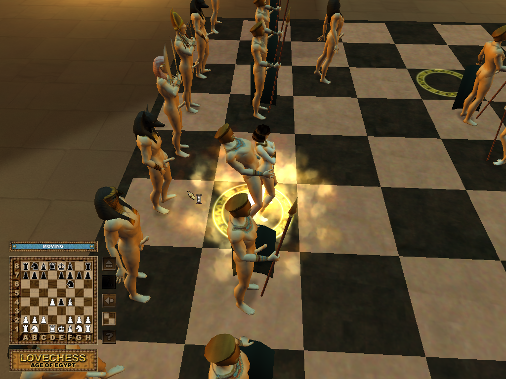 Скачать Эротические шахматы: Эра Египта / Love Chess: Age of Egypt (ENG) то